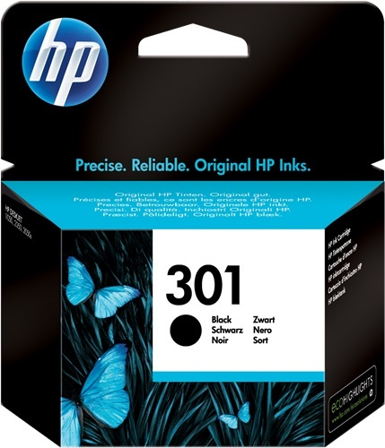 HP 301 CARTUCCIA ORIGINALE NERO