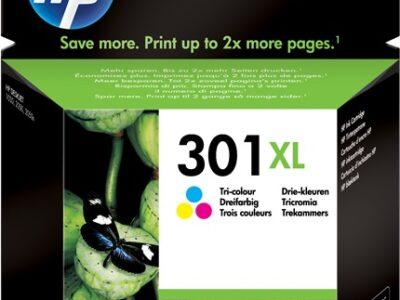 HP 301 XL CARTUCCIA ORIGINALE COLORI