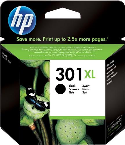 HP 301 XL CARTUCCIA ORIGINALE NERO