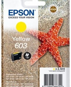 Cartuccia Epson Originale yelllow (603)