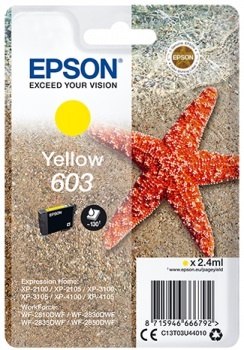 Cartuccia Epson Originale yelllow (603)